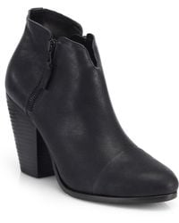 Rag & Bone Margot Leather Ankle Boots - Lyst
