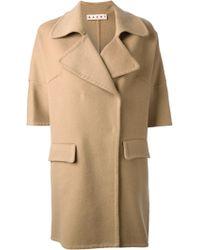 Marni Short Sleeved Coat - Lyst