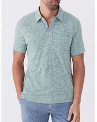 Faherty Brand - Spring Heather Polo - Lyst