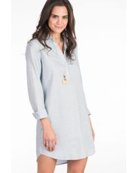 Faherty Brand - Lighthouse Shirtdress - Lyst