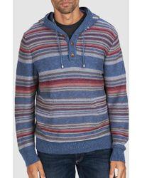 Faherty Brand - Baja Sweater Poncho - Lyst