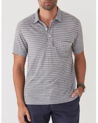 Faherty Brand - Isle Stripe Polo - Lyst