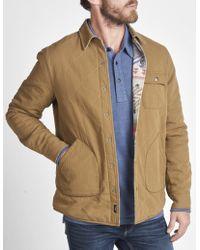 Faherty Brand - Reversible Herringbone Bondi Jacket - Lyst