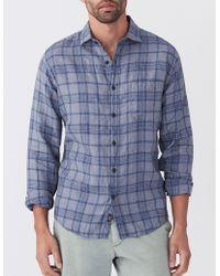 Faherty Brand - Linen Laguna Shirt - Lyst