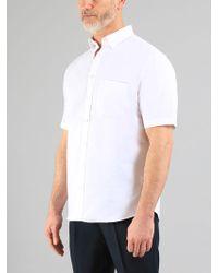 Farah - The Drayton Short Sleeve Shirt - Lyst