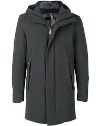 Rrd - Hooded Padded Coat - Lyst