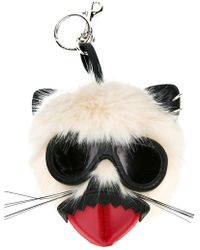 Stella McCartney - Punk Mouse Keychain - Lyst