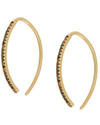 Ileana Makri - Eye Hoop Earrings - Lyst