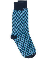 Marni - Chevron Printed Socks - Lyst