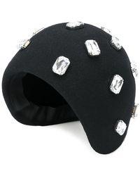 Gianluca Capannolo - Rhinestone Embellished Hat - Lyst