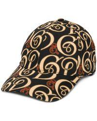 9c60f953b8f24 Dolce   Gabbana Leopard Print Baseball Cap in Black for Men - Lyst