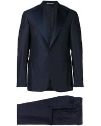 Canali - Tailored Two Piece Suit - Lyst