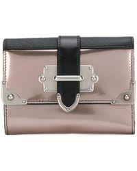 Prada - Cahier Wallet - Lyst