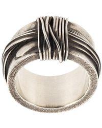Werkstatt:münchen - Tape Ring - Lyst