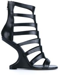 Rick Owens - 'nautilus Cantilevered' Sandals - Lyst