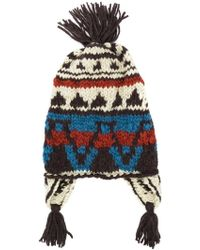 Etro - Colour-block Embroidered Hat - Lyst 788536553b78