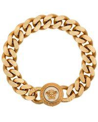Versace - Armband mit Medusa - Lyst