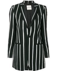 Each x Other - Striped Oversize Blazer - Lyst