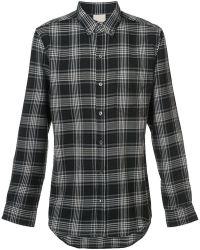 Baldwin Denim - Plaid Button Down Shirt - Lyst