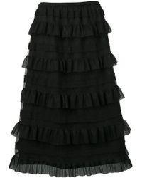 bf450db3e5b9 Women's RED Valentino Skirts Online Sale - Lyst