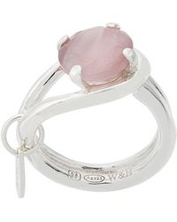 Wouters & Hendrix - Technofossils Cat's Eye Ring - Lyst