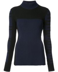 Barbara Bui - Ribbed Patterned Jumper - Lyst