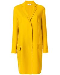 ODEEH - Classic Fitted Coat - Lyst