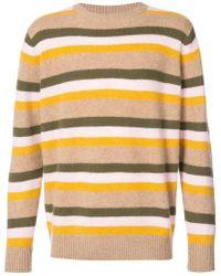 The Elder Statesman | Striped Sweater | Lyst