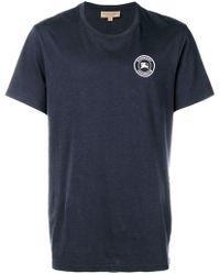 Burberry - Logo Crest T-shirt - Lyst
