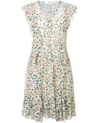 Vanessa Bruno - Floral Shift Dress - Lyst