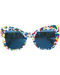 957914e6ab1c Dolce   Gabbana - Limited Edition Printed Butterfly Sunglasses - Lyst