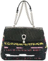 Ermanno Scervino - Woven Shoulder Bag - Lyst