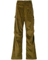 E. Tautz - Corduroy Cargo Trousers - Lyst