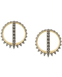 Noor Fares - Merkaba Creoles Earrings - Lyst