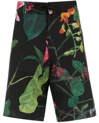 Osklen - Printed Shorts - Lyst