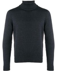 Zanone - Turtle Neck Jumper - Lyst