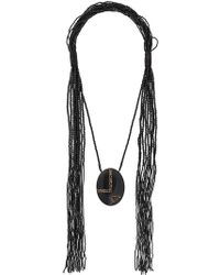 Max Mara - Acume Beaded Necklace - Lyst