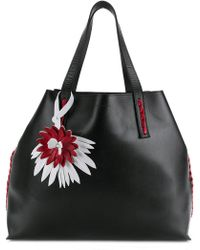 P.A.R.O.S.H. - Side Embellished Tote Bag - Lyst