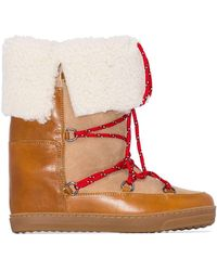 Isabel Marant - Nowly Snow Boots - Lyst