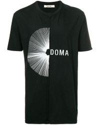 Damir Doma - Logo Print T-shirt - Lyst