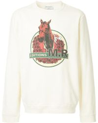 Éditions MR - Horse Print Sweatshirt - Lyst
