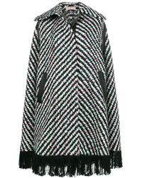 Emilio Pucci - Embroidered Flared Coat - Lyst