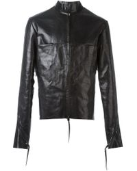 Ma+ - Zipped Up Jacket - Lyst