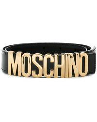 Moschino - Cinturón con logo - Lyst