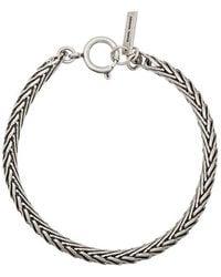 Isabel Marant Silver Bracelet - Metallic