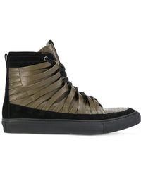Damir Doma - Zapatillas altas con diseño entretejido - Lyst