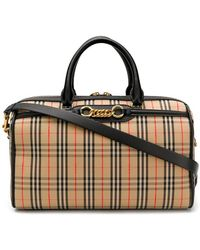 Burberry - Link Bowling Bag - Lyst