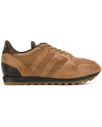 Alberto Fasciani - Lace-up Breathable Trainers - Lyst