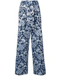 Christian Pellizzari - Printed Straight-leg Trousers - Lyst
