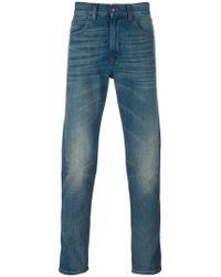 Gucci - Tiger Tapered Denim Jeans - Lyst